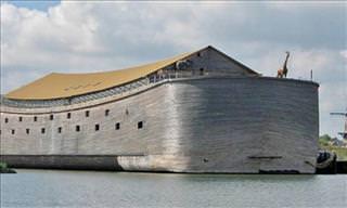 A Maravilhosa Réplica da Arca de Noé em Tamanho Real
