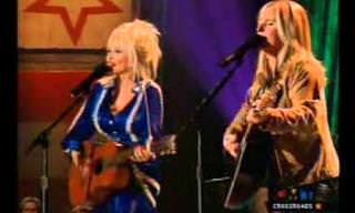 Dolly Parton e Melissa Etheridge (en)cantam