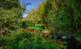 A Bela Residência e os Jardins do Talentoso Claude Monet