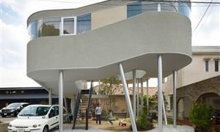24 Casas Estranhamente Incríveis