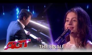 Quando uma linda voz e um talentoso pianista se encontram