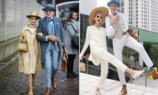 Idade não impede este casal estiloso de reinar em Berlim