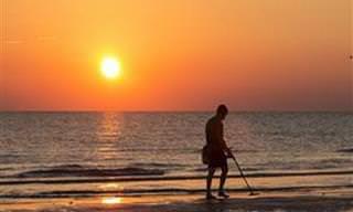 Você Nunca Sabe o Que Pode Encontrar na Praia!
