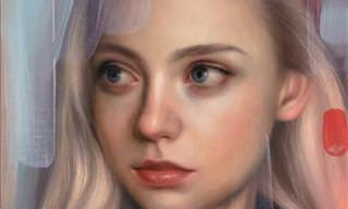 16 Retratos Realistas e Surpreendentes