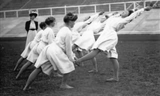 Como eram os Jogos Olímpicos em 1896
