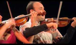Dois Violinistas Num Belo Jogo de Sedução Musical!