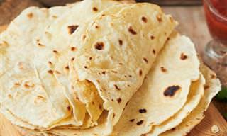 Receita de Tortilla Mexicana Caseira