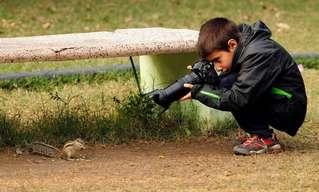 Este Talentoso Fotógrafo Tem Apenas 9 Anos!