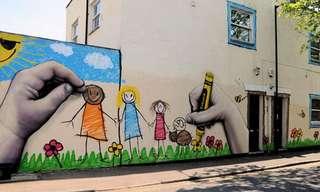 Lindas e Criativas Obras de Arte de Rua