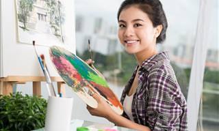 Você pode reconhecer uma pintura por um detalhe dela?