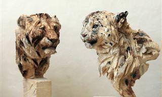 Jürgen Lingl-Rebetez e Suas Esculturas Impressionantes