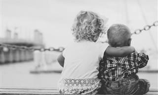 Lindas Fotos Que Registram Amor Entre Irmãos!