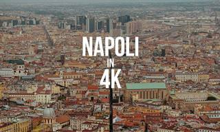 Desfrute da magia de Nápoles em resolução 4K!