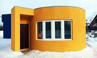 A Primeira Casa do Mundo Totalmente Impressa em 3D