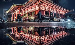 Tóquio à noite em imagens vibrantes