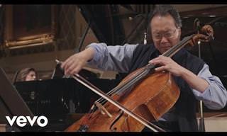 24 Performances inesquecíveis do cellista Yo-Yo Ma