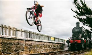 Como é possível fazer tudo isso com a bicicleta?