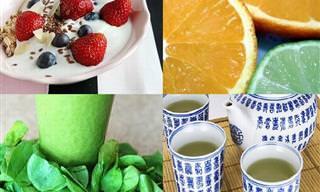 10 Super Alimentos Para Fortalecer Seu Sistema Imunológico