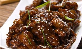 Receita Chinesa de Bife Suculento ao Molho