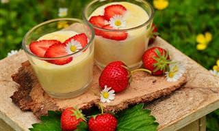 Receita de Sobremesa Fácil e Gostosa: Pavê de Morango