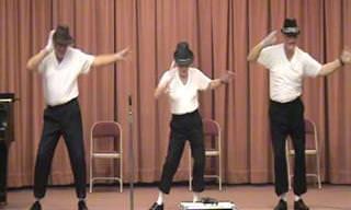Hilário: Esses senhores dançam melhor do que você!
