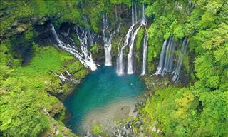 Essa ilha desconhecida é um paraíso tropical...