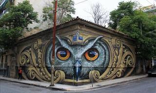 10 Artes de Rua Impressionantes ao Redor do Mundo