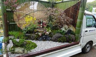 Jardins de Caminhão - Esses Japoneses Geniais...