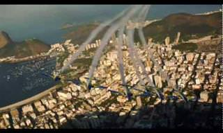 Faça Um Voo Pelo Rio de Janeiro Com a Esquadrilha da Fumaça!