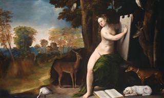 Histórias da Mitologia Grega e Romana Retratadas em Pinturas