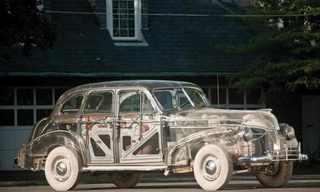 O Pontiac Fantasma De Plexiglas