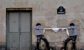 A Arte Vai Às Ruas Em Paris...