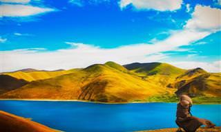O Tibete é realmente um dos lugares mais lindos que já vi