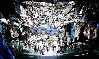 A Fascinante Arte Com Espelhos