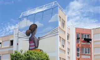 Arista Francês Transforma Muros e Paredes em Arte!