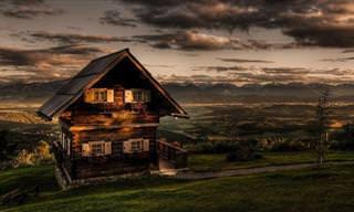 27 Casas de Madeira Perfeitas Para o Inverno