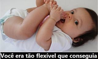 16 Curiosidades dos Seus Tempos de Bebê!