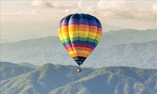Esta piada começa com um homem perdido em um balão de ar...
