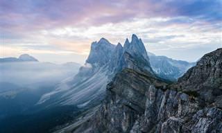 Os Magníficos Picos da Europa em Toda a Sua Glória