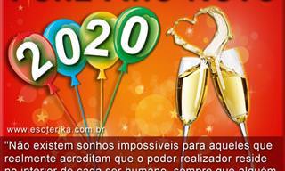 Mensagens de Ano Novo - 2020