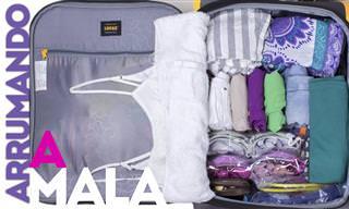 Vai viajar no fim do ano? Saiba como organizar a sua mala!