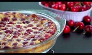 Esta Sobremesa de Cerejas É Linda e Fácil de Fazer!