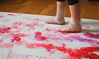 Faça Você Mesmo: 25 Ótimas Ideias Para Entreter as Crianças
