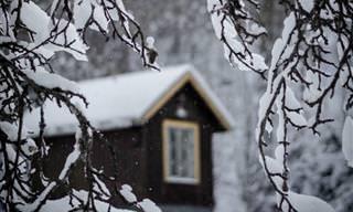 Toda a Beleza do Inverno da Suécia