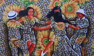 A original e encantadora arte de Gildásio Jardim
