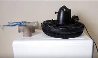 Transforme seu ventilador em um ar-condicionado caseiro!