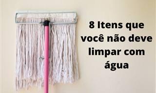 8 superfícies que ficam arruinadas quando limpas com água