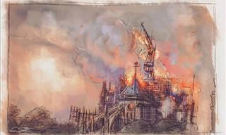 16 Saudações Artísticas Perfeitas à Notre-Dame
