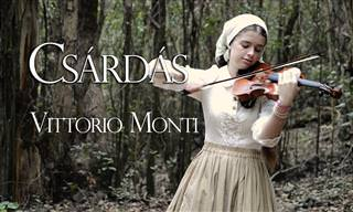 Momento romântico: Csárdás, de Monti