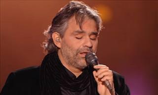 Emocione-se com este tributo a Elvis por Andrea Bocelli!